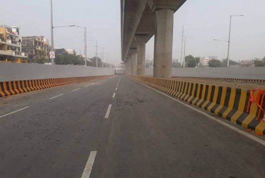 Construction of Underpass in Noida