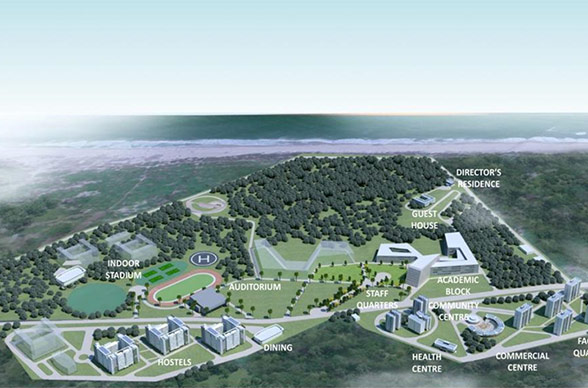 Development of Functional Permanent Campus of IISER
