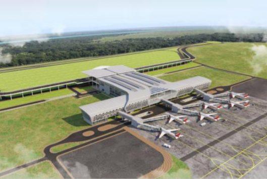 New terminal building at Vijaywada airport
